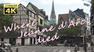 Rouen France  City pictures : Rouen, a walk through the historic center - France 4K Travel Channel