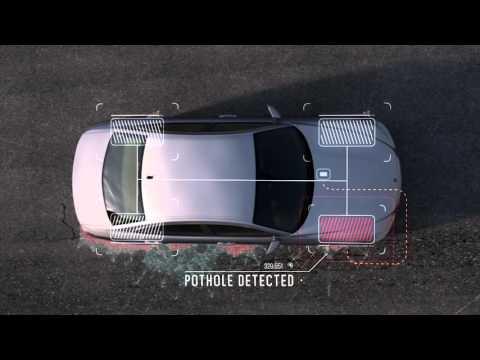 Straßenoberflächen Erfassung via Fahrzeugsensoren