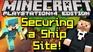 Minecraft PLAYSTATION 4 - Securing a Site! #2 (PS4)