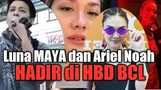 Video Luna Maya dan Ariel Noah  BERTEMU DILOKASI, hadir di Ultah BCL MP3, 3GP, MP4, WEBM, AVI, FLV Maret 2019