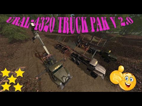 Ural 4320 truck Pack v2.0