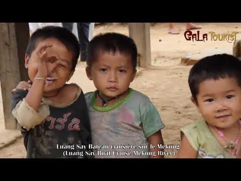 Laos: Luang Say Bateau croisière sur le Mékong (Luang Say Boat Cruise - Galatourist)
