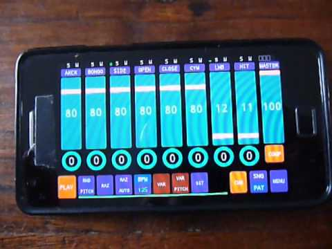 Video of Cadeli drum machine free