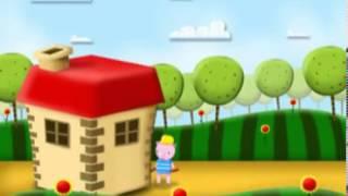 Os 3 porquinhos versão curta Zon Kids Portugal