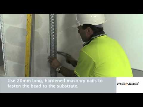 HOW TO: Install Rondo EXANGLE Drywall Beads