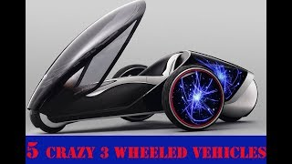 9. 5 CRAZY 3 Wheeled Vehicles Don,t Miss This Video - Created By { All Is Here }