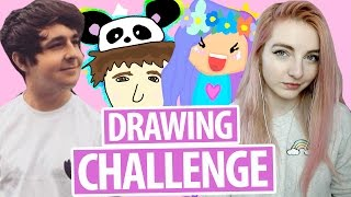Drawing YouTuber Fan Art Challenge!