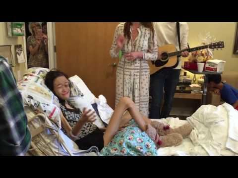Dying girl being serenaded by Florence And The Machine