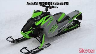 8. Tidningen Snöskoter - Arctic Cat M8000 Hardcore EVO 153 2018