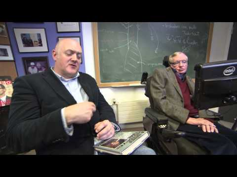 """Online Exclusive: """"All science fiction is dead"""" - Dara O Briain meets Stephen Hawking - BBC One"""