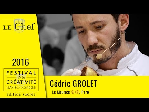 FCG 2016 édition sucrée : Cédric Grolet