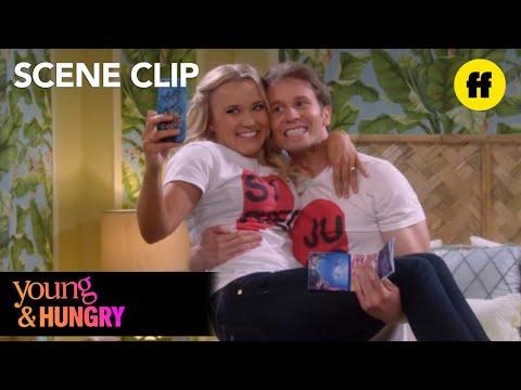 Young & Hungry | Season 4, Episode 1: Merman Mermaid Beach Towels | Freeform