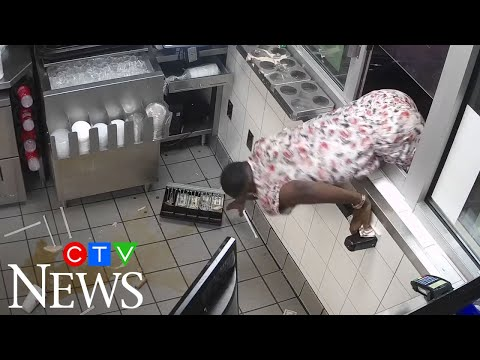 Man throws drinks at Wendy's staff, tries to grab register