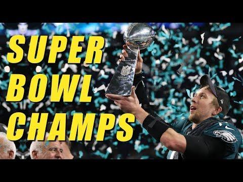Philadelphia Eagles Crush The Evil Empire in Super Bowl 52 (видео)