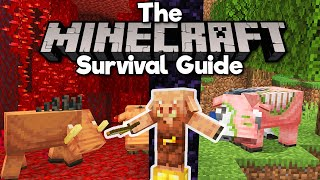 Hoglins, Zoglins, & Dancing Piglins! • The Minecraft Survival Guide (Tutorial Lets Play) [Part 318]