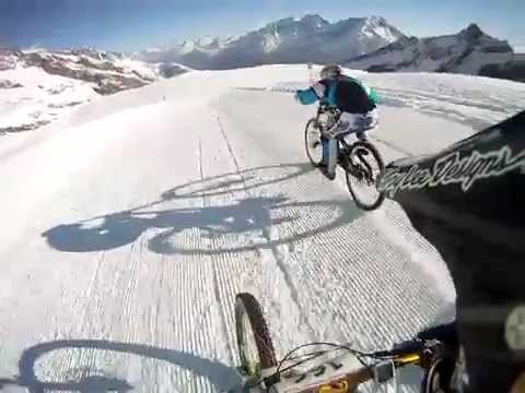 Downhill Glacier Mtn Bike Race - Saas Fee 2012
