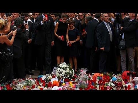 Βαρκελώνη: Στον τόπο της επίθεσης το βασιλικό ζεύγος