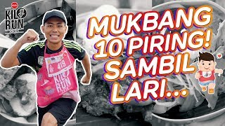 Video MUKBANG 10 PIRING SAMBIL LARI!! | KILORUN BALI 2018 MP3, 3GP, MP4, WEBM, AVI, FLV Juni 2018