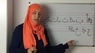 Leçon 01: Apprendre à lire et écrire l'arabe: L'alphabet arabe
