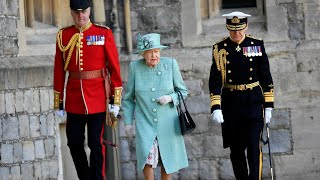 video: Trooping the Colour 2020: Queen's official birthday celebrated with Royal Salute at Windsor Castle