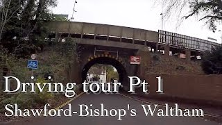 North Waltham United Kingdom  city photos : Driving tour Shawford to Bishop's Waltham Hampshire UK