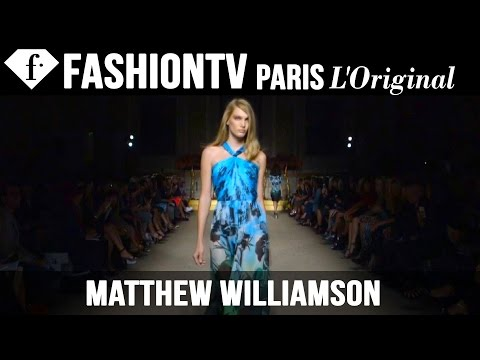 Fashion TV - http://www.FashionTV.com/videos LONDON CITY - See Matthew Williamson's new collection for Spring/Summer 2015 on the runway at London Fashion Week. For franchising opportunities with FashionTV,...