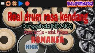 DITINGGAL RABI(ndx a.k.a)Versi Koplo - Edot Arisna - Romansa - Real drum cover