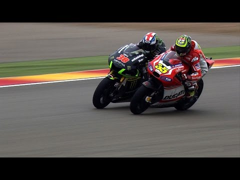 MotoGP™ Aragon 2014 – Best overtakes видео