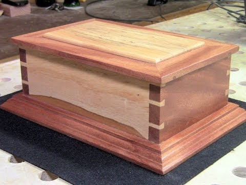 Woodworking - I missed my Wednesday deadline by just a smidge..ha! In this video I show you a way to make a decorative box which features hand cut dovetail joints. This bo...