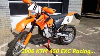 8. 2006 KTM 450 EXC-R ~ Walk around and Test ride. Akrapovic exhaust