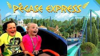 Video La Nouvelle Attraction du Parc ASTERIX avec DJAMEL -  PEGASE EXPRESS MP3, 3GP, MP4, WEBM, AVI, FLV Agustus 2017