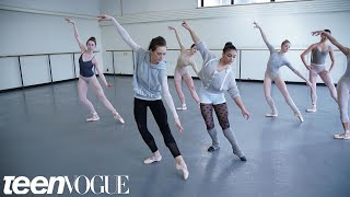 Video Laurie Hernandez Learns a 'Nutcracker' Routine With the New York City Ballet | Teen Vogue MP3, 3GP, MP4, WEBM, AVI, FLV April 2018