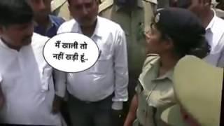 Charu Nigam IPS Officer Gorakhpur & BJP MLA Radha Mohan Agarwal Viral Video