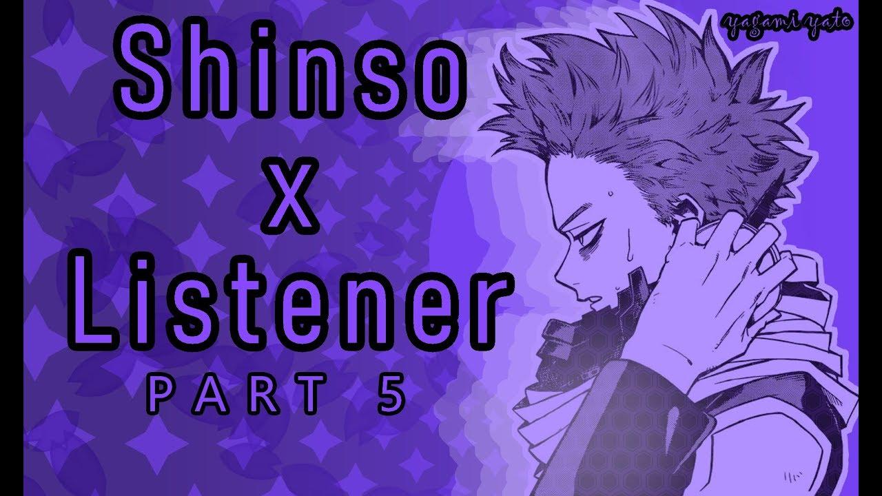 Hitoshi Shinso x Listener ASMR p5 [My Hero Academia] 18+
