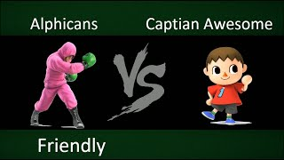Captain Awesome vs Alphicans!!!