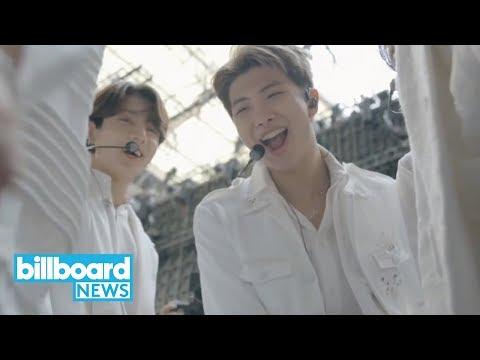 BTS Just Broke This Record...  Billboard News