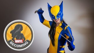 VIDEO: Cosplayer Amanda Lynne Shafer Transforms into WOLVERINE