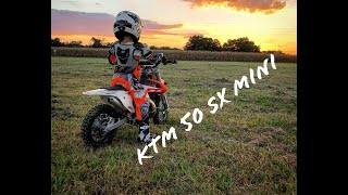 1. WE SURPRISE MITCHELL WITH HIS NEW KTM 50 SX MINI!!!!!!