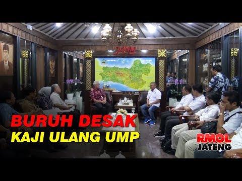 Buruh Desak Gubernur Ganjar Pranowo Kaji Ulang UMP