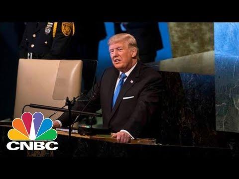 President Donald Trump Talks North Korea, Iran, Syria In UN General Assembly Speech (Full)   CNBC