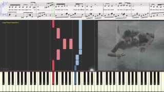 Я люблю тебя больше природы - Дубцова �рина (Ноты и Видеоурок для фортепиано) (piano cover)