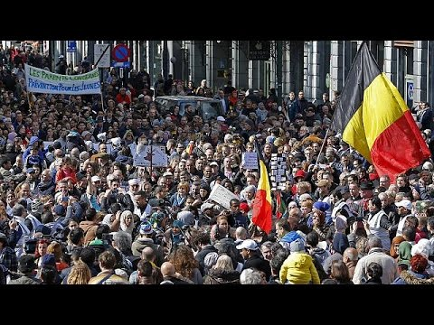 Βρυξέλλες: «Πορεία ενάντια στην τρομοκρατία και το μίσος»