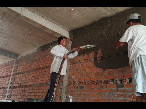 Lần đầu dùng máy phun quá hứng khởi, người Miền Tay rất dễ thương 0915911533 NPL Nam Phú Lôc