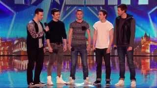 Video Britain's Got Talent S08E01 Collabro Amazing Classical / Musical Boy Band MP3, 3GP, MP4, WEBM, AVI, FLV Maret 2019
