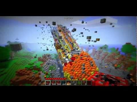 Minecraft: Meteor In Minecraft!?