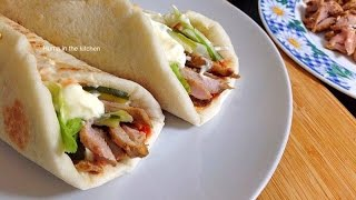 Chicken Shawarma Recipe In Urdu - Homemade Chicken Shawarma Style Recipe by (HUMA IN THE KITCHEN)