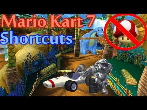 Mario Kart 7 - All Shortcuts (Shroomless)