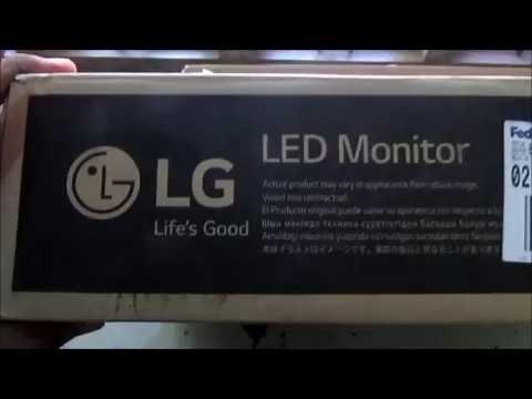 LG 20M38H Unboxing LED Monitor