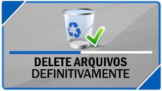 Como deletar arquivos do seu computador definitivamente ( SEM ...