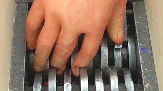 Shredding Halloween Zombie Hand